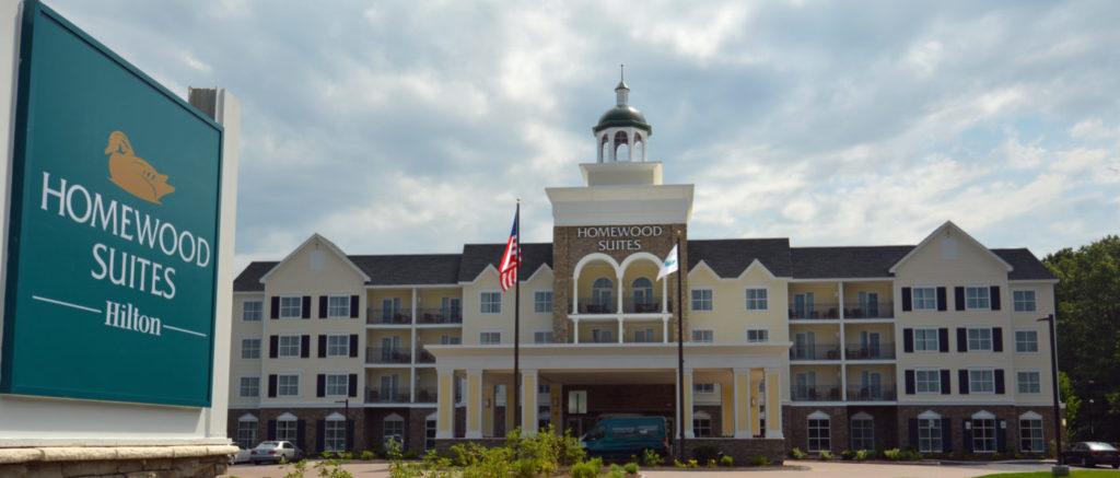 Saratoga Exterior View
